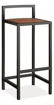 banqueta/ silla alta  de hierro estilo industrial