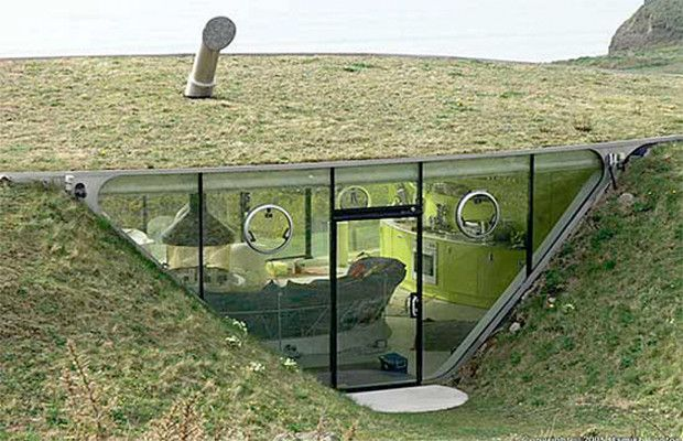 Underground homes, or earthen homes, have extreme benefits over above ground housing across the entire board. Some of these beneficial qualities include their ability to save space above ground, their extreme insulative properties which make them highly energy efficient, and their extremely dura