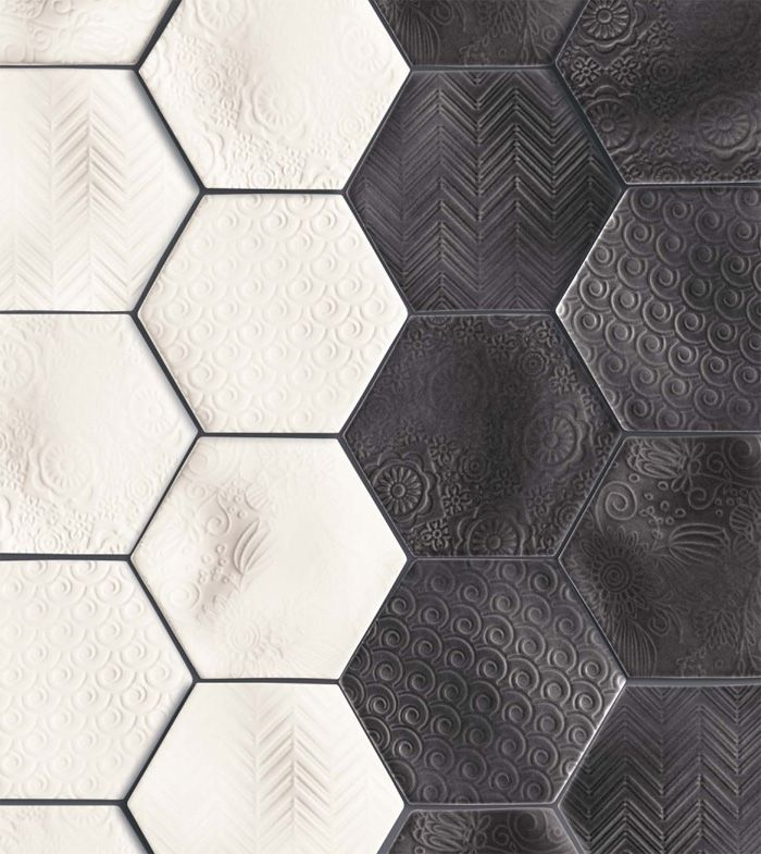 Academy Tiles | Richmond, Melbourne | Artarmon, Sydney | Mosaic Ceramic Glass Porcelain Stone / #black #white