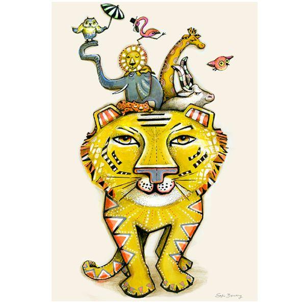 Bilde av Plakat Tiger