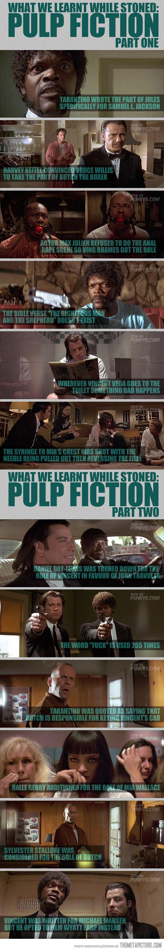 Pulp Fiction - Facts