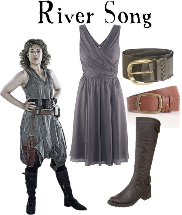 river song costume diy