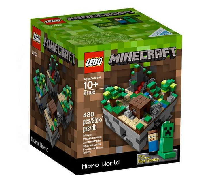 lego mincecraft | LEGO Minecraft 21102 Micro World :: Sklep Kleks  Everybody loves Minecraft
