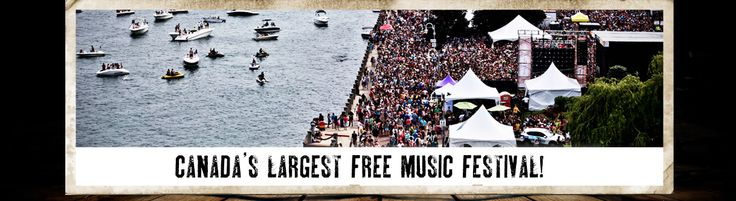 Sound of Music: 5 days of entertainment for all ages at Canada's largest free music festival! Another reason why Burlington, Ontario is such a great place to live!