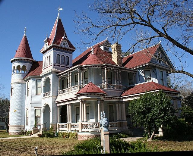 Victorian Houston House Gonzales TX House Victorians Pintere