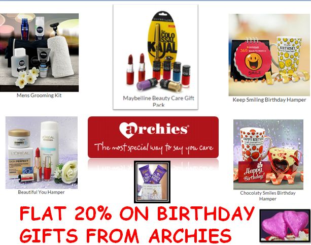 Buy Birthday gifts online for your love ones and avail heavy discounts online through amazing app Zappcash .Shop for birthday gifts like soft toys, clothes, perfumes, bags online for your dear ones. Birthday Gifts: Archies brings the widest range of Birthday gifts for your beloved husband, wife, father, son, sister, daughter and brother online through Zappcash. Are you interested in spending some money online for shopping? Easier and faster than ever to buy things online, especially when…