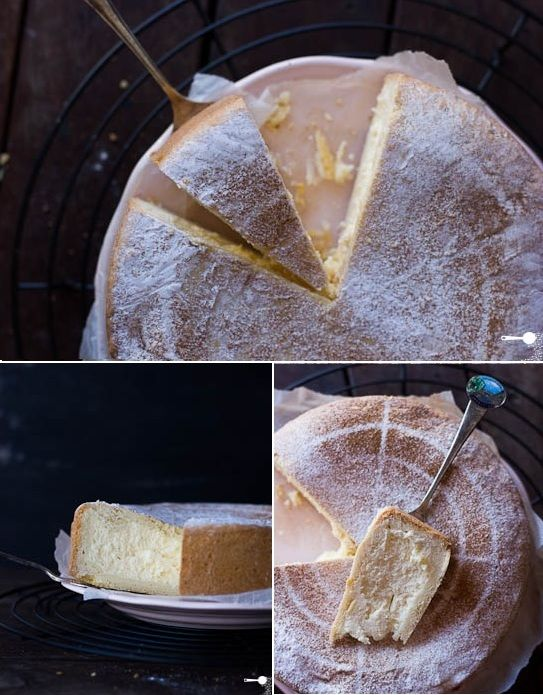Pasticceria Papa Inspired Baked Ricotta Cheesecake