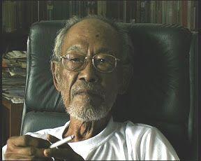 Pramoedya .... Indonesia's most celebrated novelist.