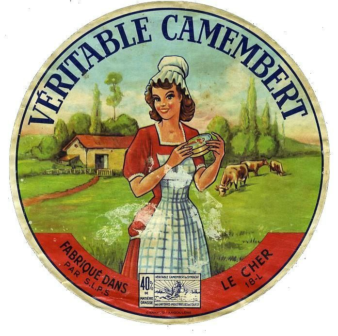 Véritable camembert fabriqué dans le Cher