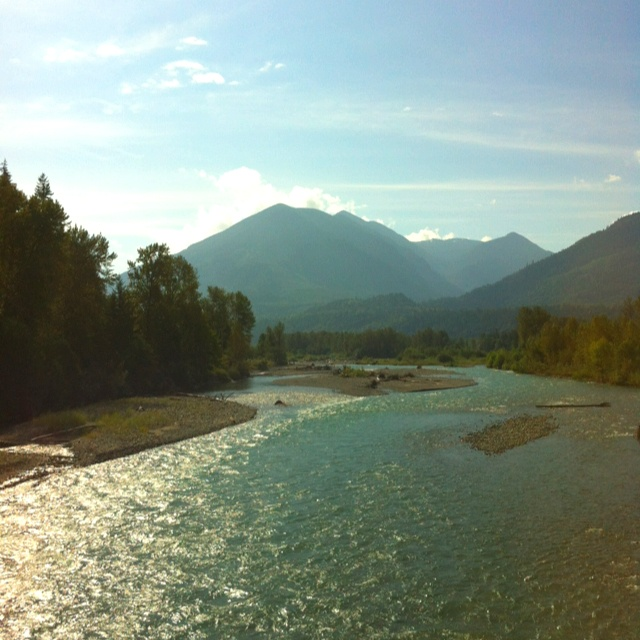 Vedder river , chilliwack , british columbia , Canada .