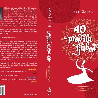 AŞK Bosna'da çıkıyor, çok heyecanlıyım, Bosna'daki kitapseverlere selam olsun...The Forty Rules of Love is coming out in Bosnia, really excited about it, regards to Bosnian readers...