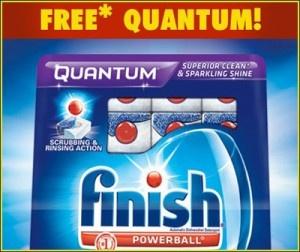 Remboursement de votre achat de Finish Quantum   Parfait pour voir si c'est le savon qu'il vous faut !  http://rienquedugratuit.ca/coupons/remboursement-finish-quantum/