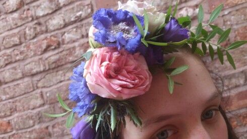 Floral crown fit for a princess
