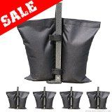 #4: Industrial Grade AbcCanopy Weights Bag Leg Weights for Pop up Canopy Tent Weighted Feet Bag Sand Bags 4pcs-pack