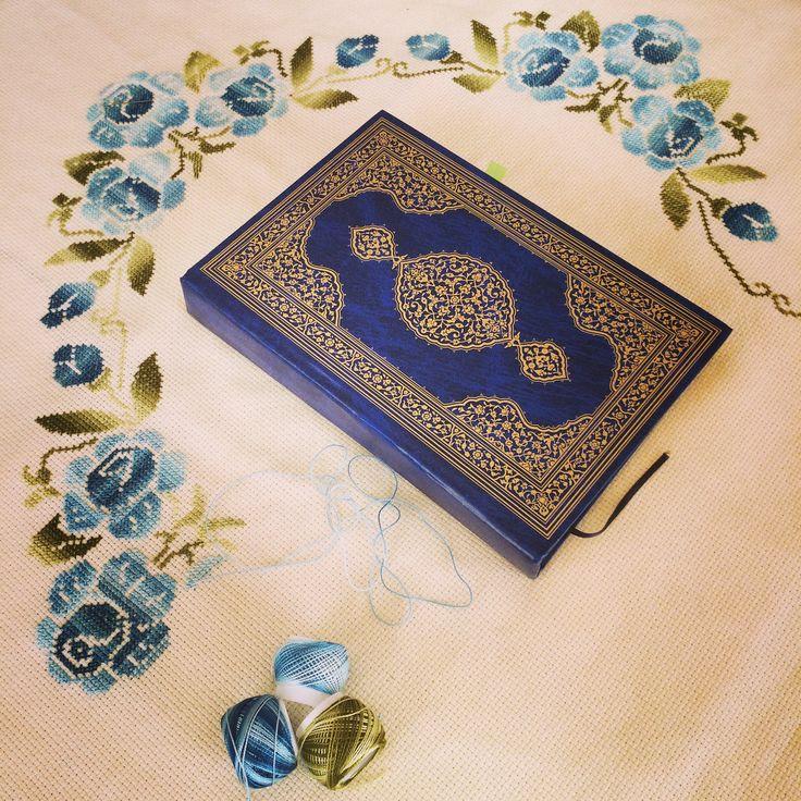 Etamin seccade / cross stitch prayer rug