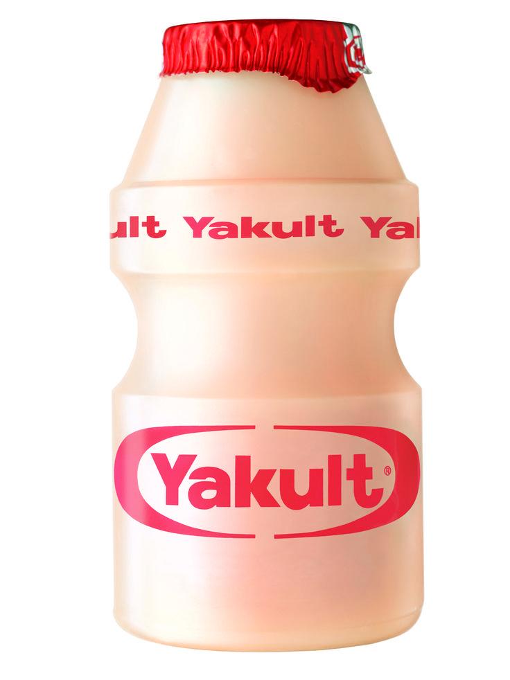 Yakult drink.
