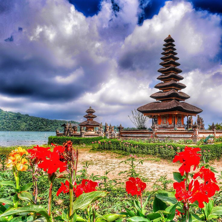 One of the many temples in Bali