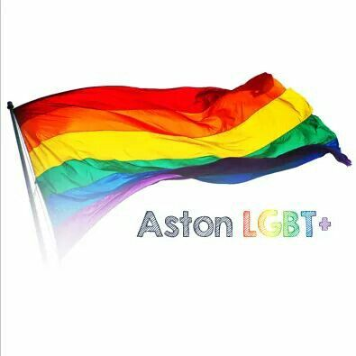Aston Uni LGBT+ logo