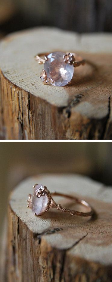 Vintage Rose Quartz Ring ♥