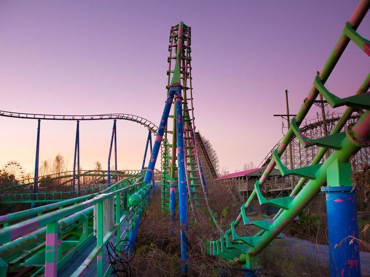 The Best Six Flags New Orleans Ideas On Pinterest New - 10 years hurricane katrina six flags theme park new orleans still lies abandoned 10 years