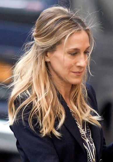 Magnificent 17 Best Ideas About Sarah Jessica Parker Hair On Pinterest Sarah Hairstyles For Men Maxibearus