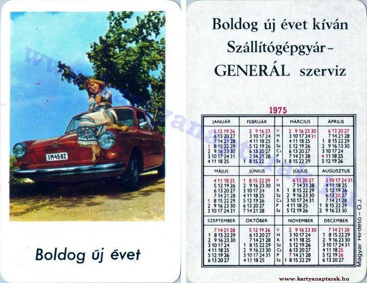 1975 - 1975_0828 - Régi magyar kártyanaptárak