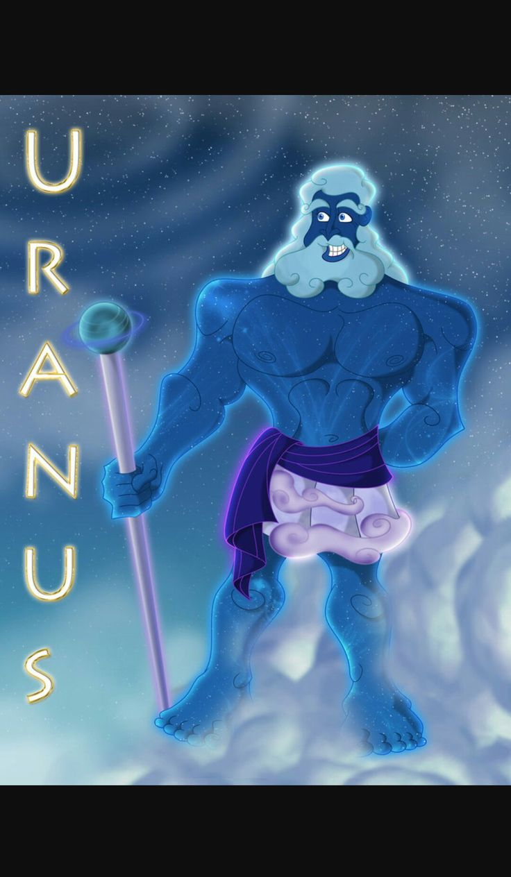 Uranus greek god of the sky, son,husband to gaia, father ...