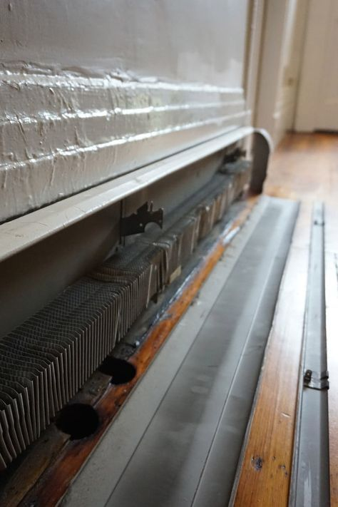 Step By Step How To Paint Metal Baseboard Heater Covers