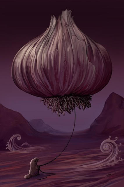 """""""The Platypus's Garlic"""" by Ursula Vernon. Seriously love it!"""