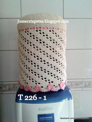 Jussara tapetes: T 226 - 01 e 02 capas de agua e gaz