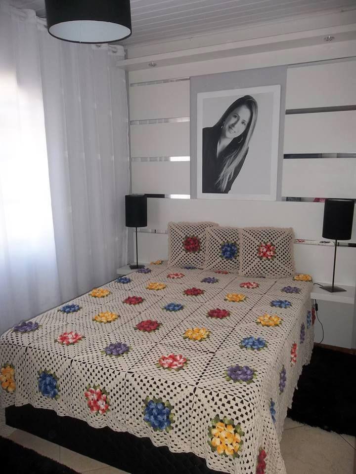 Yataklarınız için örgü yatak örtüleri