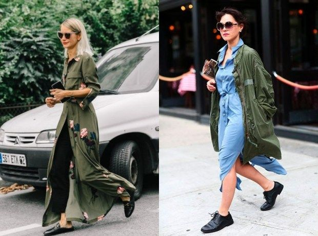 a08ad5782c69 Street style fashion trends fall winter 2018 2019  military style ...