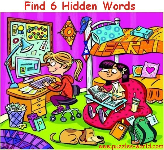 14 best Hidden Word Puzzle images on Pinterest   Word puzzles ...