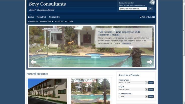 SEVY India - Website Development