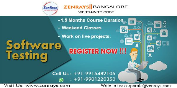REGISTER NOW for #SoftwareTesting this weekend 1st & 2nd July 2017 @ Koramangala 4th Block, Bangalore, #Bengaluru India. CALL +91 9916482106 or WhatsApp +91 9901220350 to register.