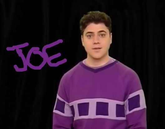 Donovan Patton As Joe Steve's Little Brother. He's the new host of Blue's Clu...