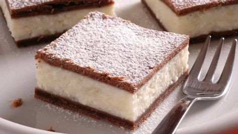 Lahodný dezert: Tvarohový koláč s pudingom