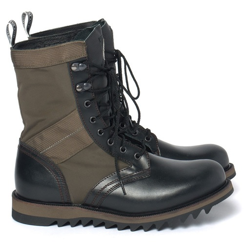 Diemme Italy X Stone Island Combat Boots Olive 43 10 $600 limited rf Vibram Sole | eBay