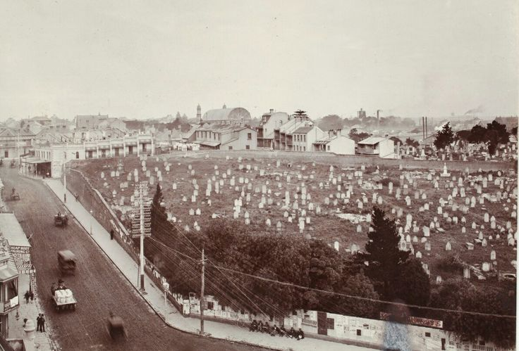 Devonshire Street Cemetery in Sydney.