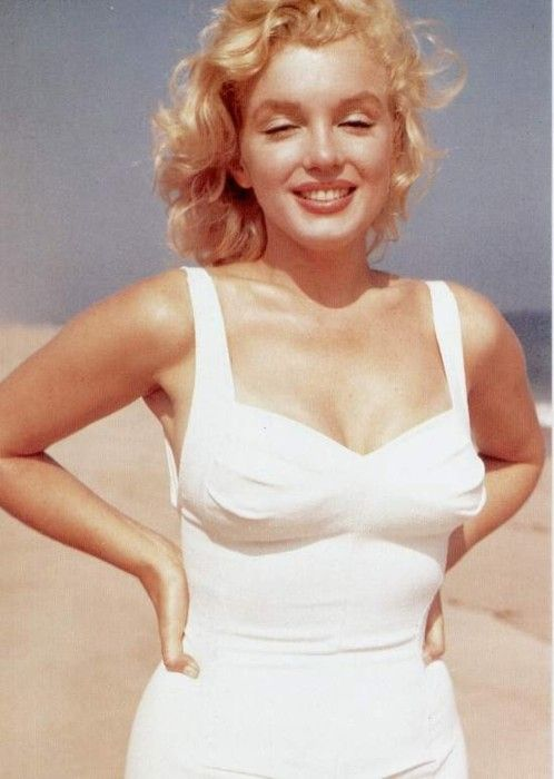 marilyn monroe sam shaw 1957 vintage colour beach