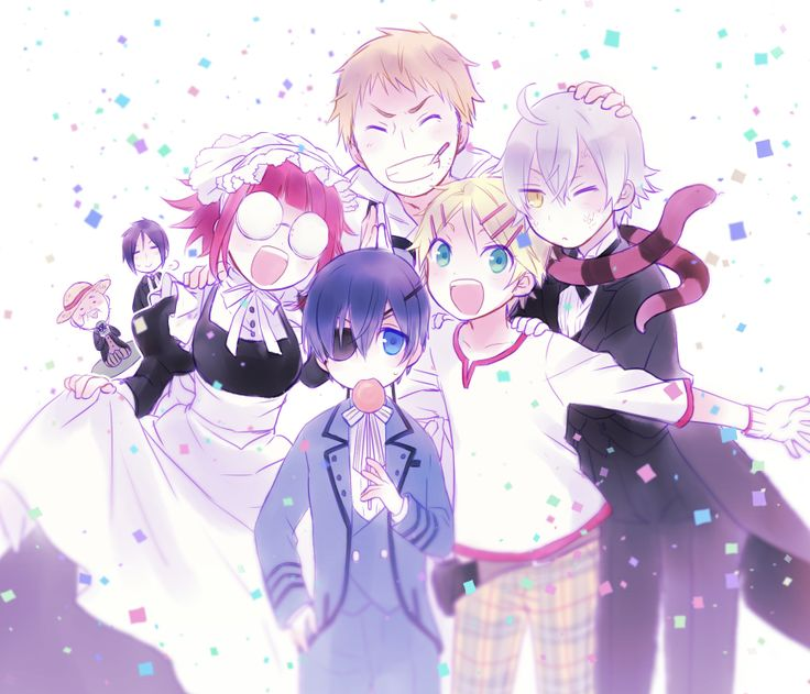 HAPPY 260's FOLLOWERS! (Anime is kuroshitsuji/black butler)