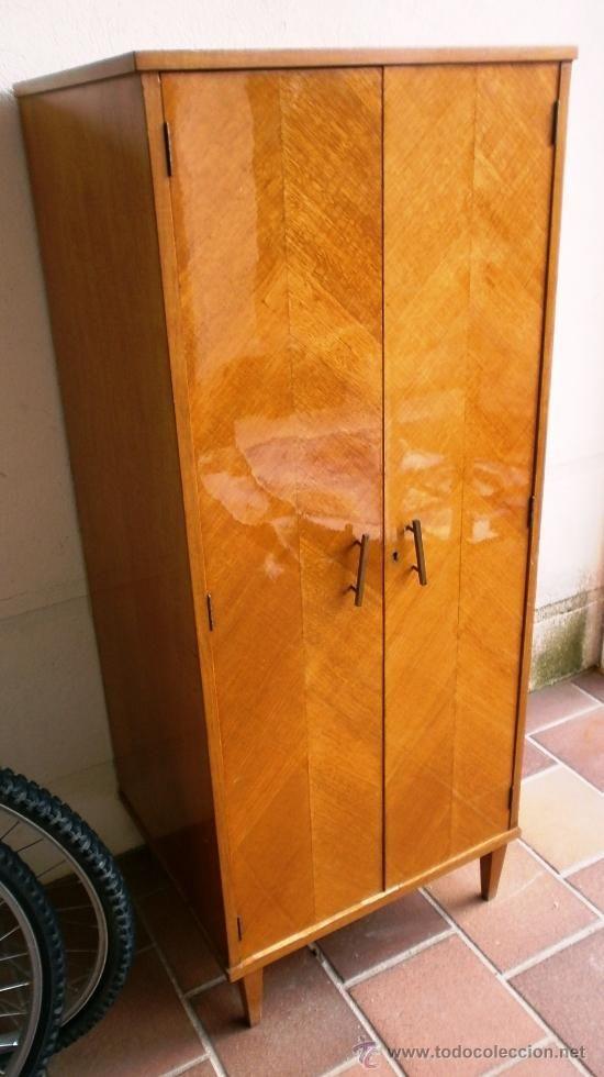 Artesanato Para Vender ~ Armario pequeño, en formica y madera de haya maciza, 50 cms de ancho, 169 u20ac, vendido por 115