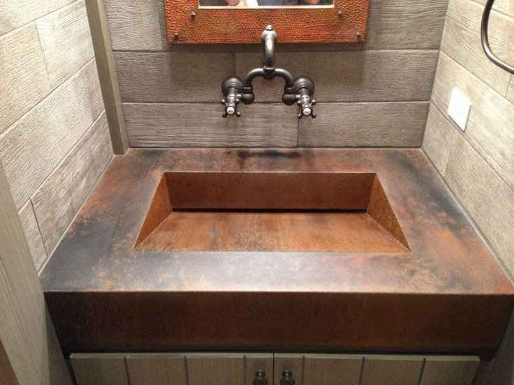 Concrete Countertops And Sinks Are Beautiful And Durable Additions To Any  Home. See Pictures Of What CustomCreteWerks Can Do For Your Bathroom!