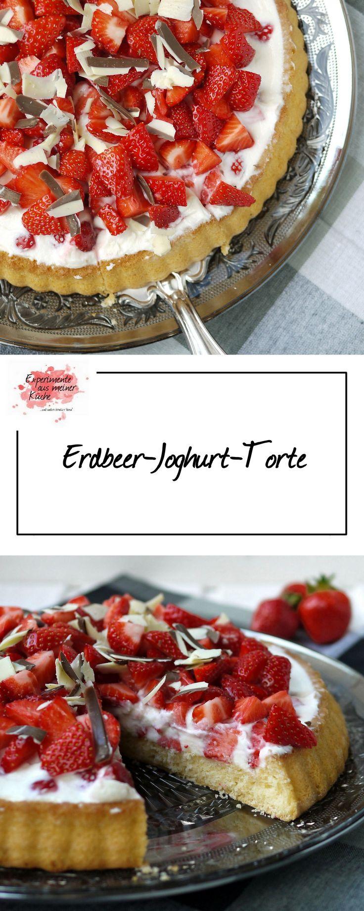 Erdbeer-Joghurt-Torte | Backen | Rezept | Kuchen