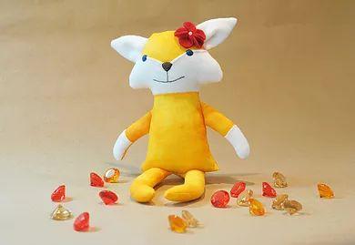Yulia Decor  | Мягкая игрушка лиса | Fox softie