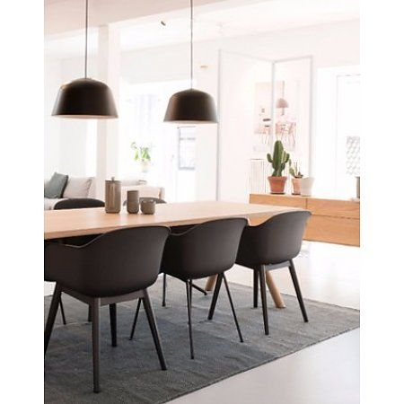 57 best muuto fiber dining chair images on pinterest. Black Bedroom Furniture Sets. Home Design Ideas