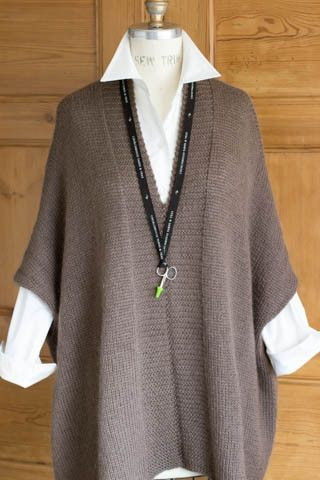 Modern Wrapper Project – Tunic Version in Kid Classic