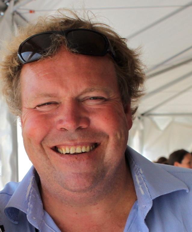 Norman Hardie is Owner/Winemaker at Norman Hardie Winery in Hillier, Ontario.     (Photo by Elena Galey-Pride)