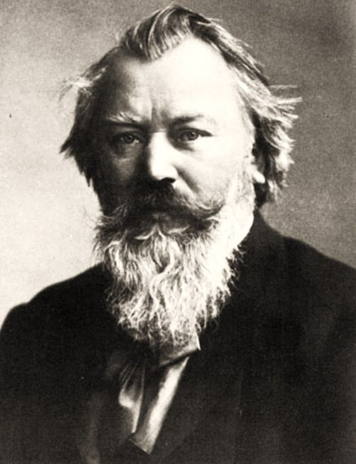 Johannes Brahms. Not Franz Liszt.  Altho people are always talking about being Brahms & Liszt...