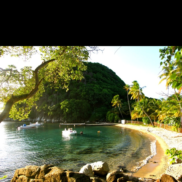 Pain de sucre, les Saintes, Guadeloupe, French West Indies.
